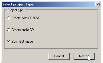 How to burn Ubuntu 9 04 install CD image with DeepBurner