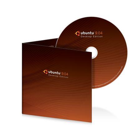 Ubuntu 9.04 OS CD